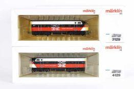 """Märklin 3062 und 4062, zweiteilige US-Diesellok """"NEW HAVEN""""Märklin 3062 und 4062, zweiteilige US-"""