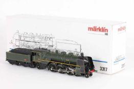 """Märklin 3317, Dampflok """"132 A 995"""" der SNCFMärklin 3317, Dampflok """"132 A 995"""" der SNCF, analog,"""