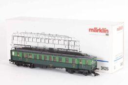 """Märklin 3426, Dieseltriebwagen """"600.02"""" der SNCBMärklin 3426, Dieseltriebwagen """"600.02"""" der SNCB,"""