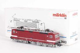 """Märklin 3443, Elektrolok """"243 897-6"""" der DR (DDR)Märklin 3443, Elektrolok """"243 897-6"""" der DR ("""