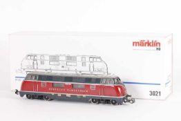 """Märklin 3021, Diesellok """"V 200 027"""" der BundesbahnMärklin 3021, Diesellok """"V 200 027"""" der"""