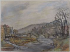 BOWIEN, Erwin Johannes, Maler u Dichter, * 3.9.1899 Mülheim an der Ruhr, +3.12.1972 Weil am Rhein,