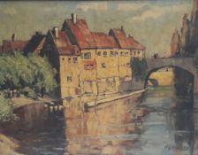 GLEISSNER, Hans, *1880 Hamburg +1935, Marinemaler, stud Hamburg, Weimar, Amsterdam, München, arb