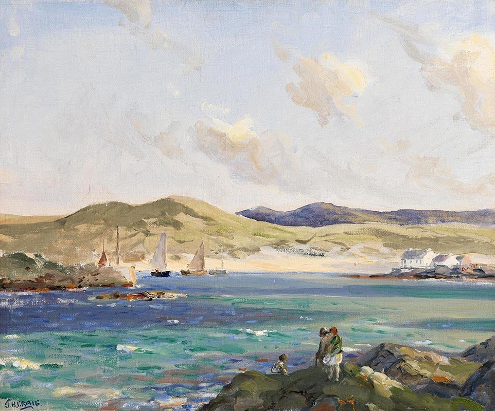 Lot 25 - James Humbert Craig RHA RUA (1878-1944) Portnablagh, Co. Donegal