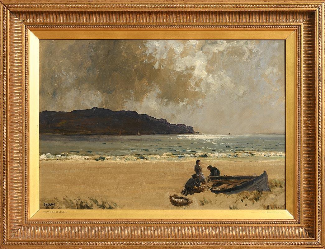 Lot 42 - James Humbert Craig RHA RUA (1878-1944) Killyhoey, Co Donegal