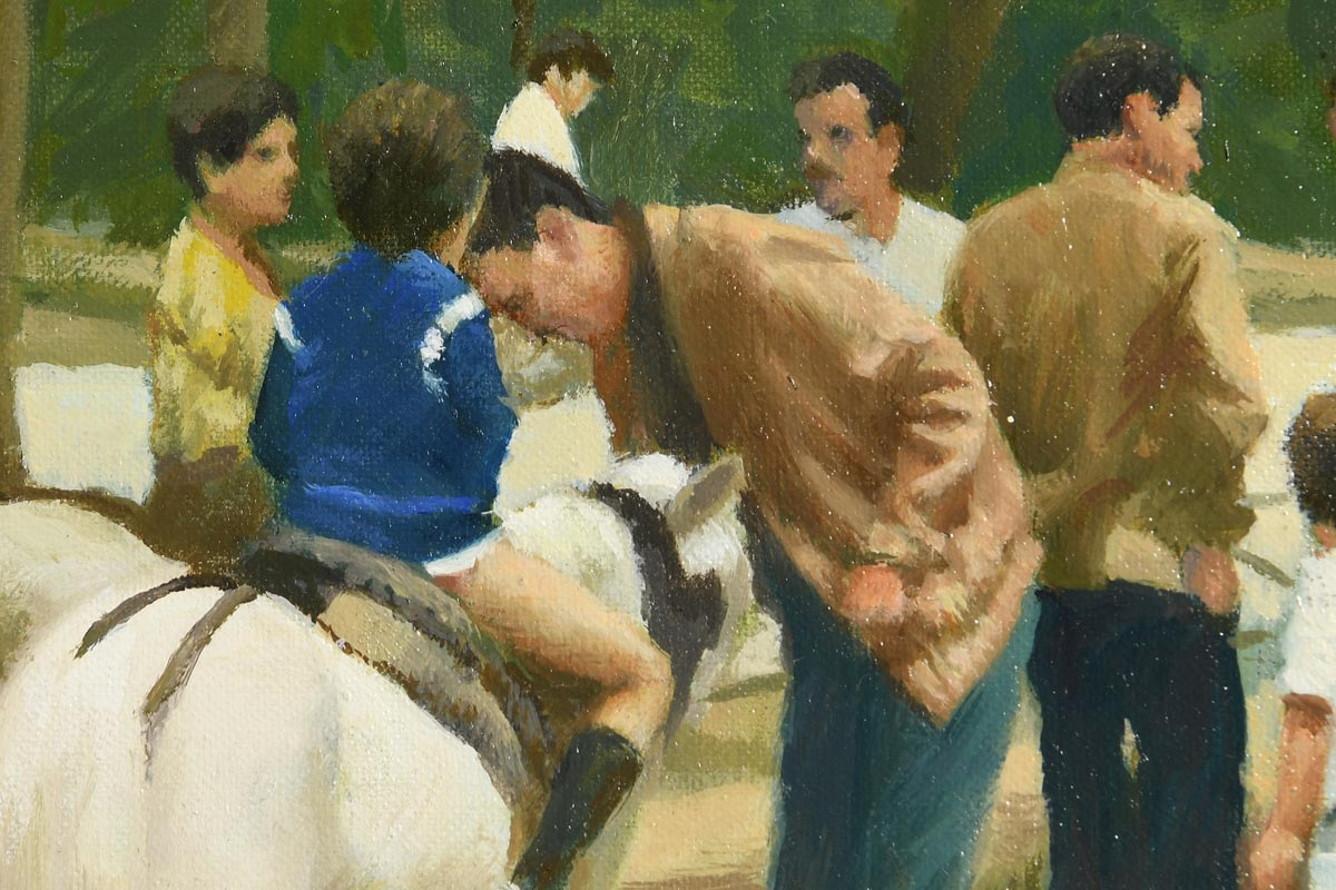 Lot 24 - Henry Robertson Craig RHA RUA (1916-1984) Pony Rides