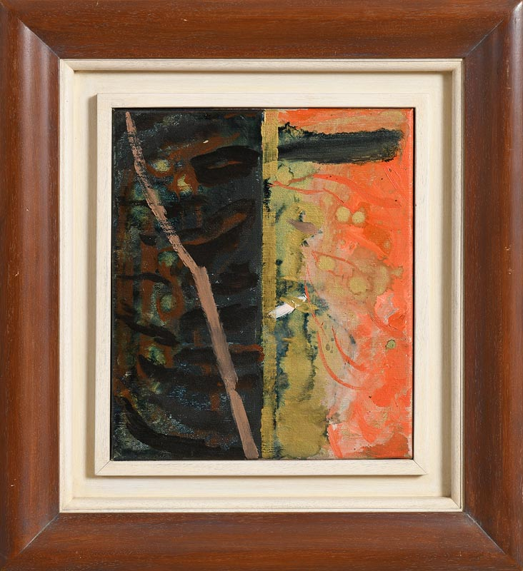 Lot 28 - Maurice Cockrill RA (1936-2013) British Study for Place of Fire I (1994)