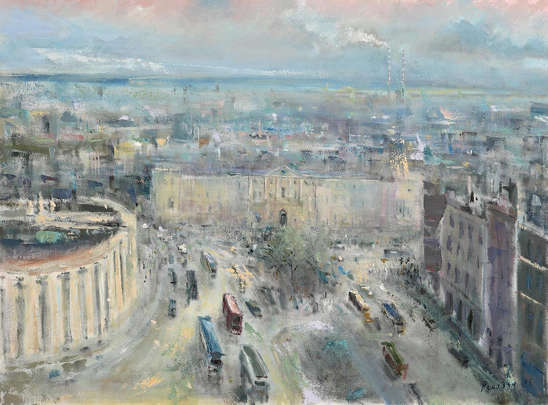 Lot 22 - Peter Pearson (b.1950) College Green, Dublin (2005)