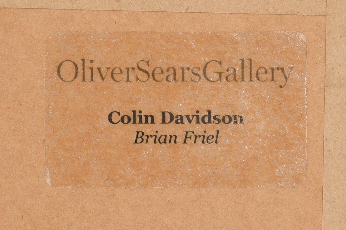 Lot 14 - Colin Davidson (b.1968) Portrait of Brian Friel