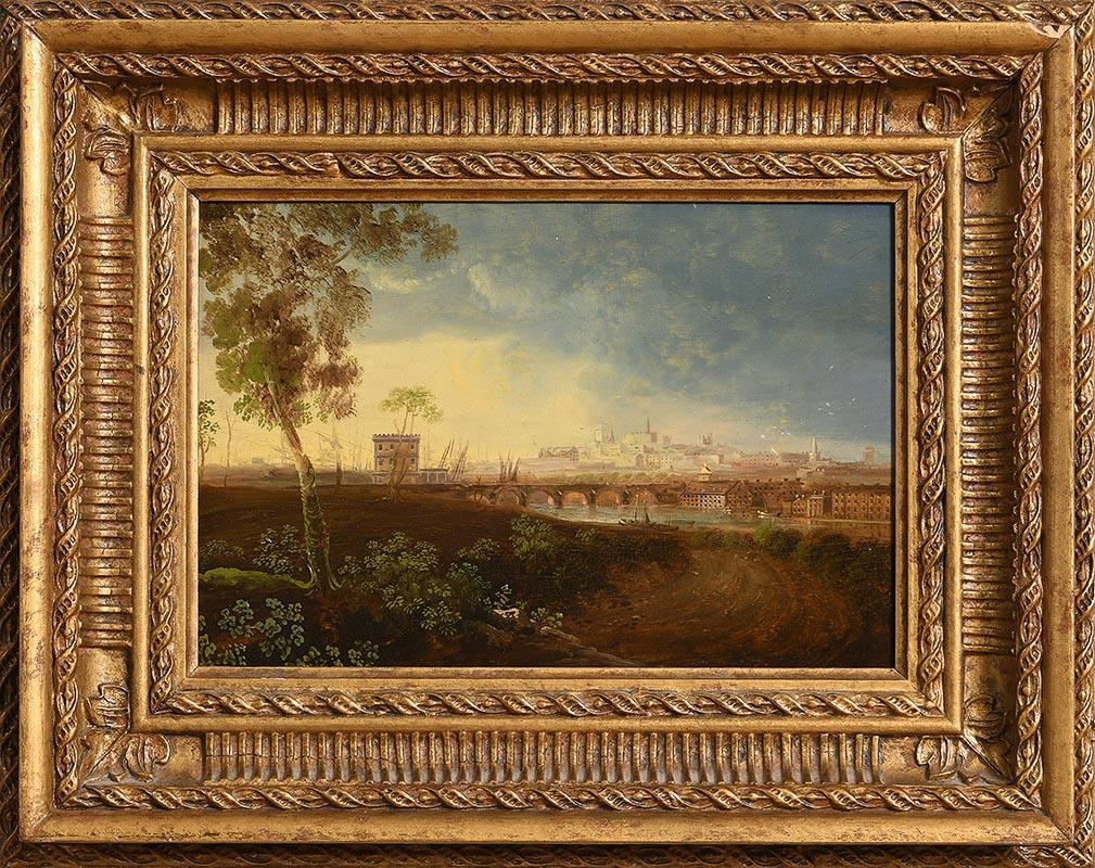 Lot 43 - William Sadler II (1782-1839) View of Drogheda