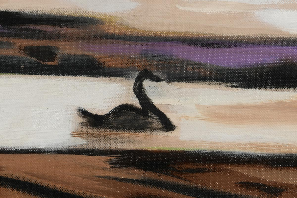 Lot 53 - Norah McGuinness HRHA (1901-1980) The Black Swan