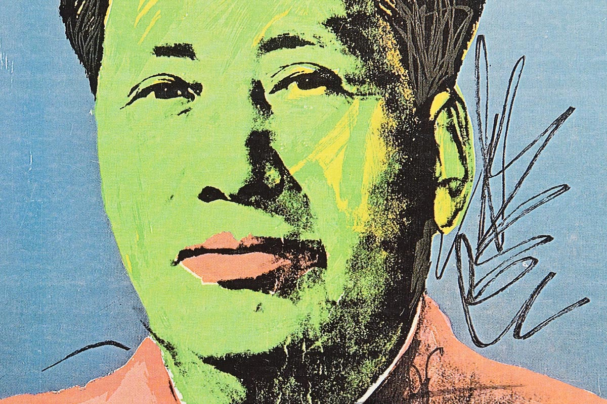Lot 36 - Andy Warhol (1928-1987) American Mao Tse-Tung (Announcement)
