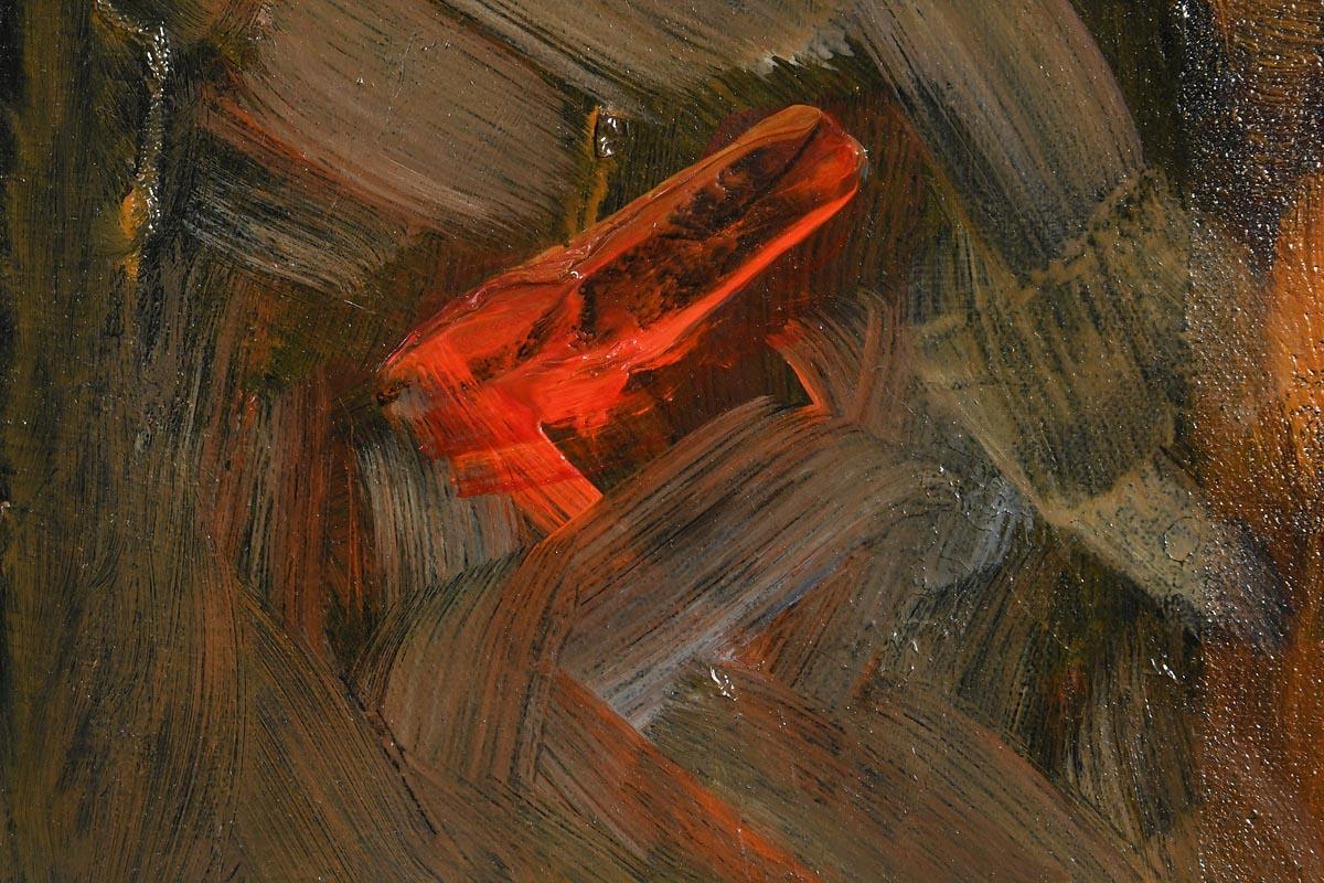 Lot 54 - John Shinnors (b.1950) Loop Head - Still Morning, Windy Evening