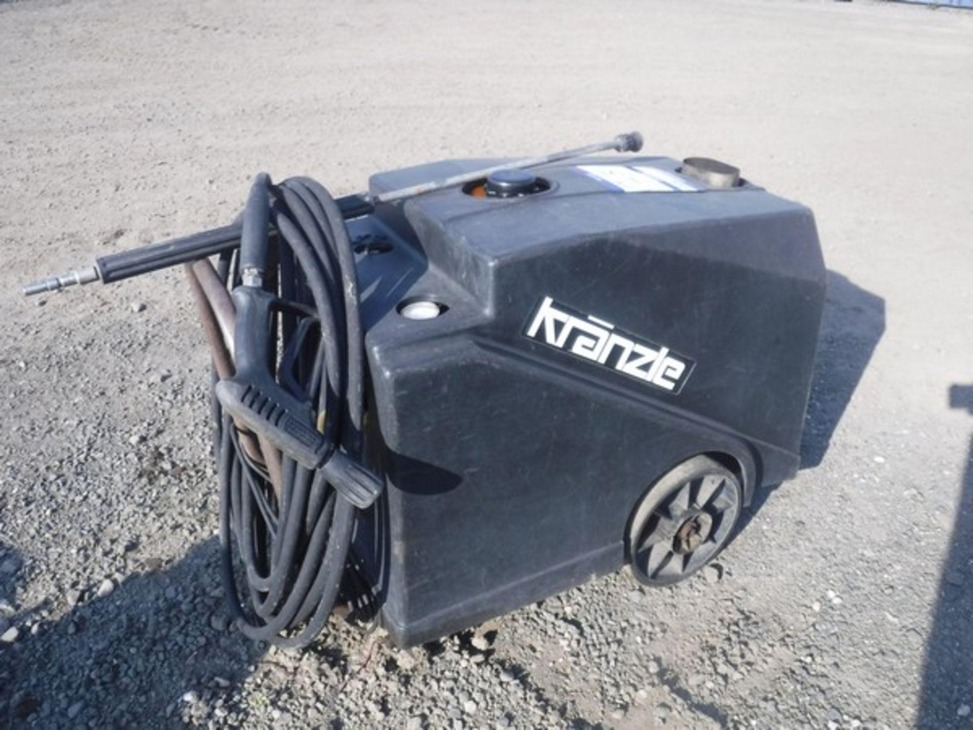 Auktionslos 43 - KRANZLE diesel pressure washer