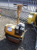 Auktionslos 805 - 2012 JCB MSR 58 pedestrian roller. S/N Y05820039