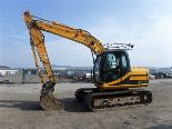 Auktionslos 823 - 2006 JCB 130 c/w one bucket. New idler fitted. S/N JCBJS13CT61179799