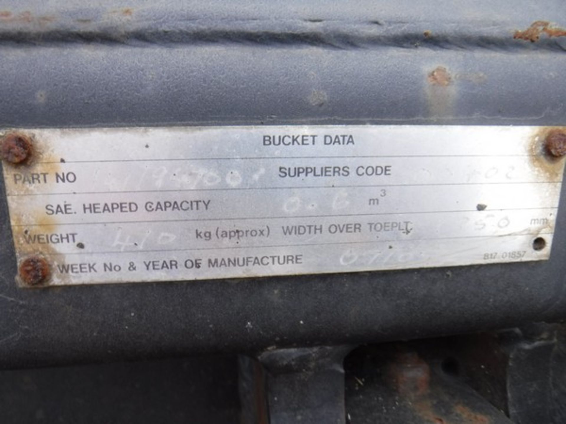 Auktionslos 252 - 4 in 1 bucket for JCB 2CX
