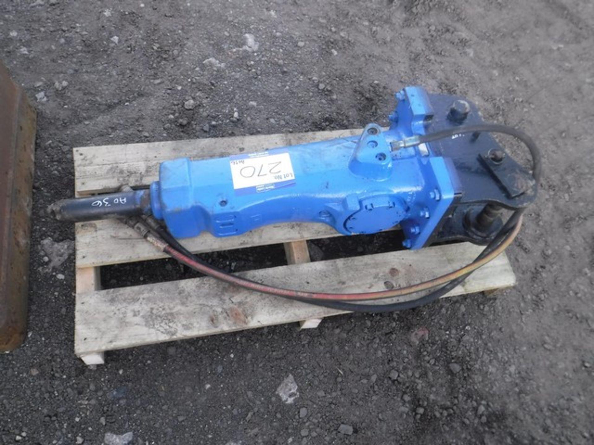 Auktionslos 270 - 2007 ATLAS COPCO hydraulic breaker