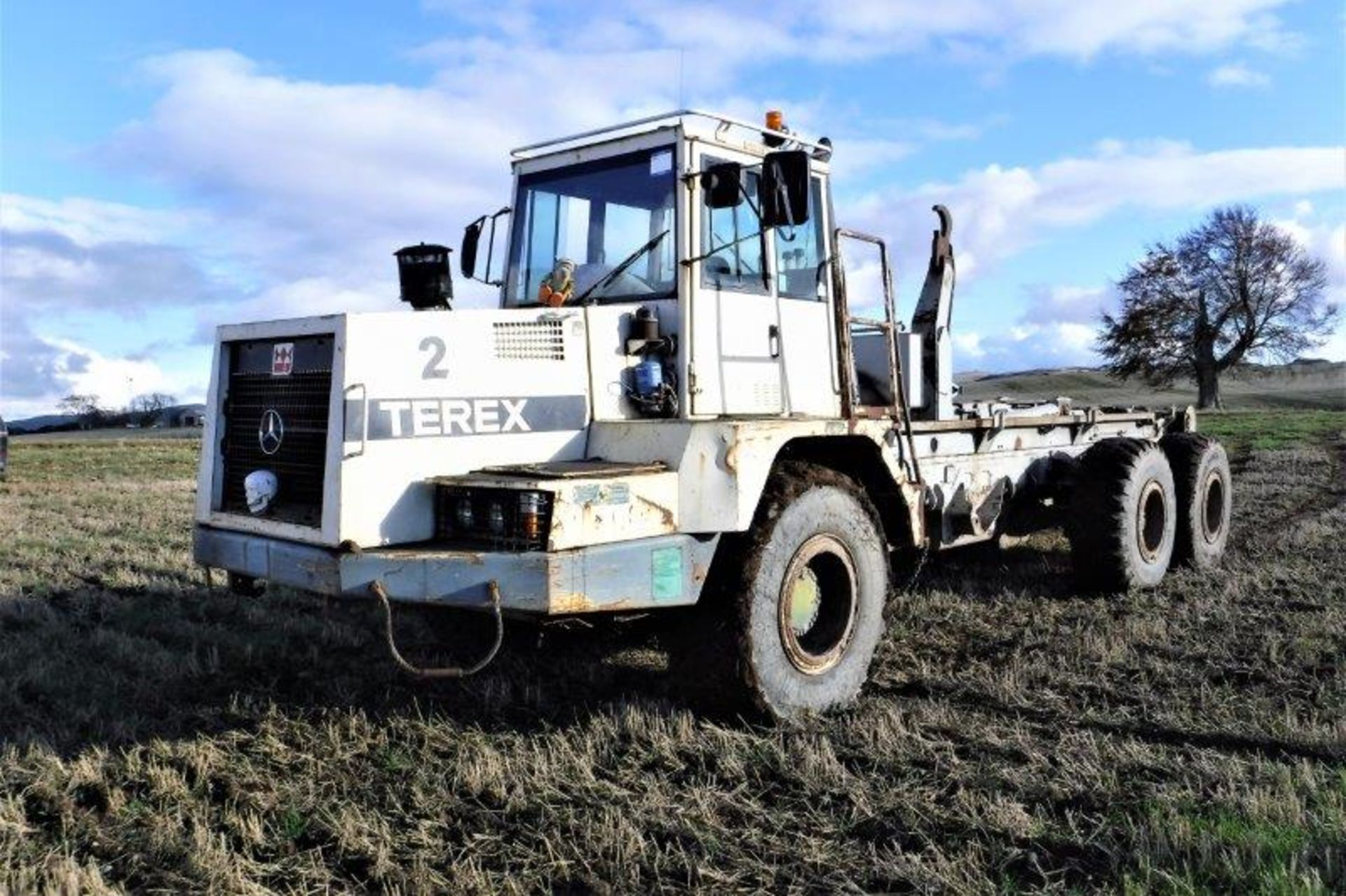 Auktionslos 838 - 1999 TEREX TA25 6x4 big hook s/n 7961012