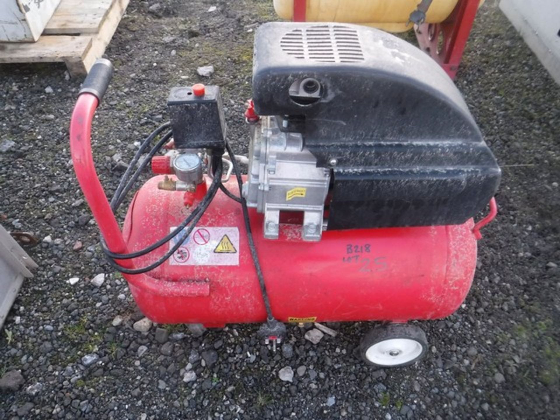 Auktionslos 25 - Air compressor. Spares or repairs