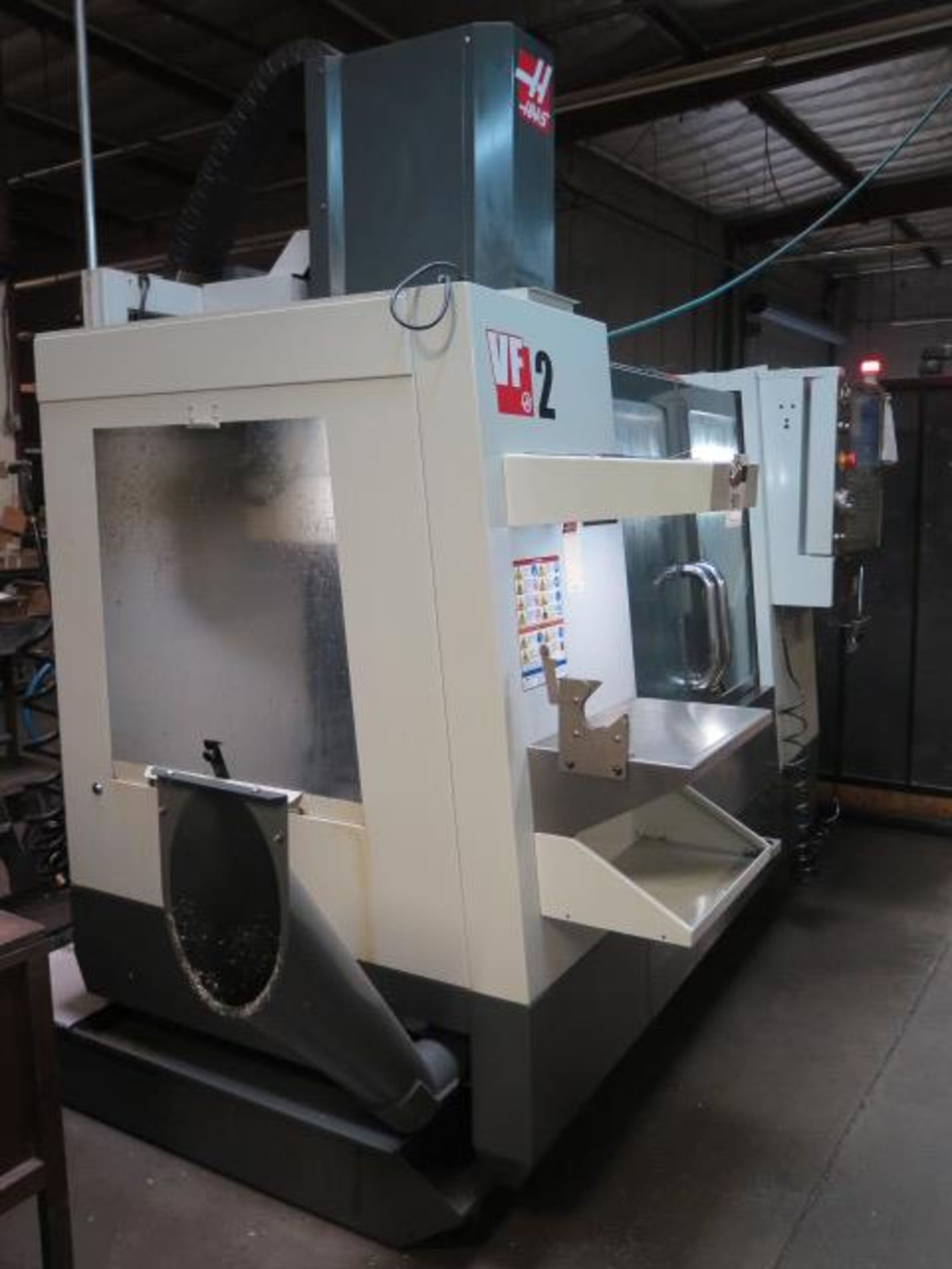 Lot 40 - 2013 Haas VF-2 CNC Vertical Machining Center s/n 1102921 w/ Haas Controls, 20-Station ATC, CAT-40