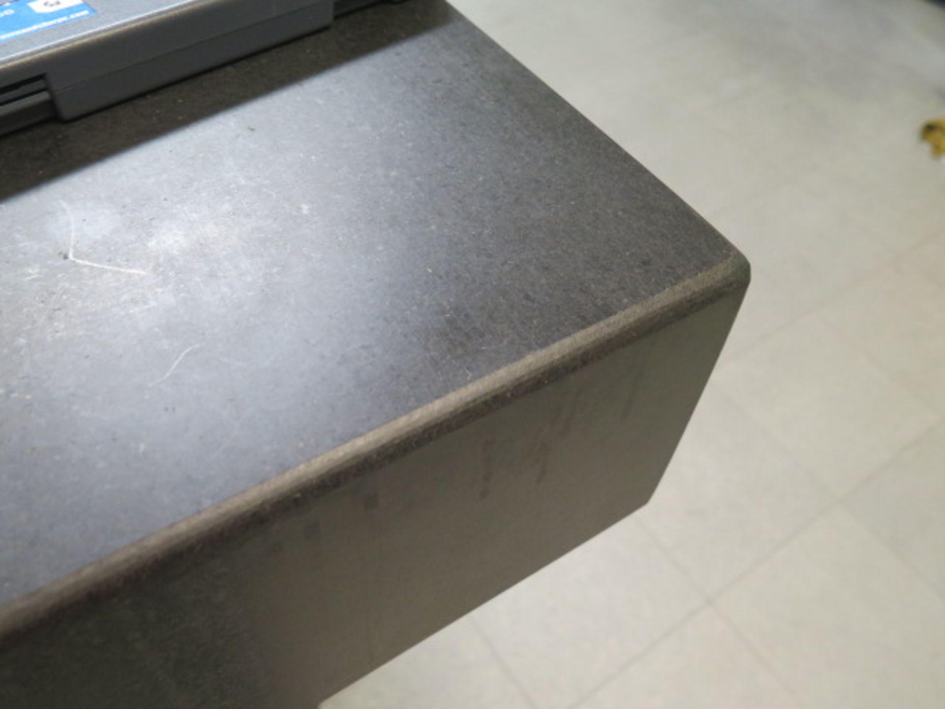"Lot 10 - Standridge 36"" x 48"" x 6"" Granite Surface Plate w/ Stand"
