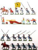 Landsknechte um 1500, Artillerie im Feuer, Österreich um 1700, Pikeniere im Sturm, Kieler