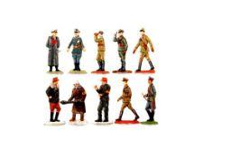 Konvolut 2. Weltkrieg, Offiziere und Volkssturm, verschiedene Hersteller, gute und sehr gute, leicht