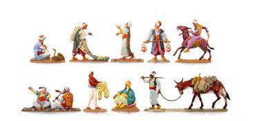 Türkei, Straßenleben, verschiedene Hersteller, Provenienz: Sammlung Renate Kebbel, sehr gute bis