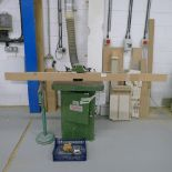 Lot 10 - 1 spindle moulder by Cooksley ref. 19336, 3ph supplied with a small quantity of tooling, a roller