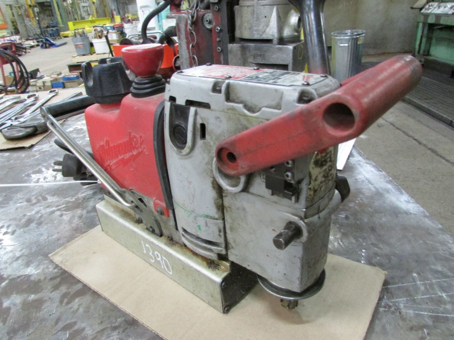 Milwaukee 4245 Steel Hawg magnetic drill, 110V - Image 3 of 3