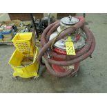 Milwaukee HD shop vac and mop bucket