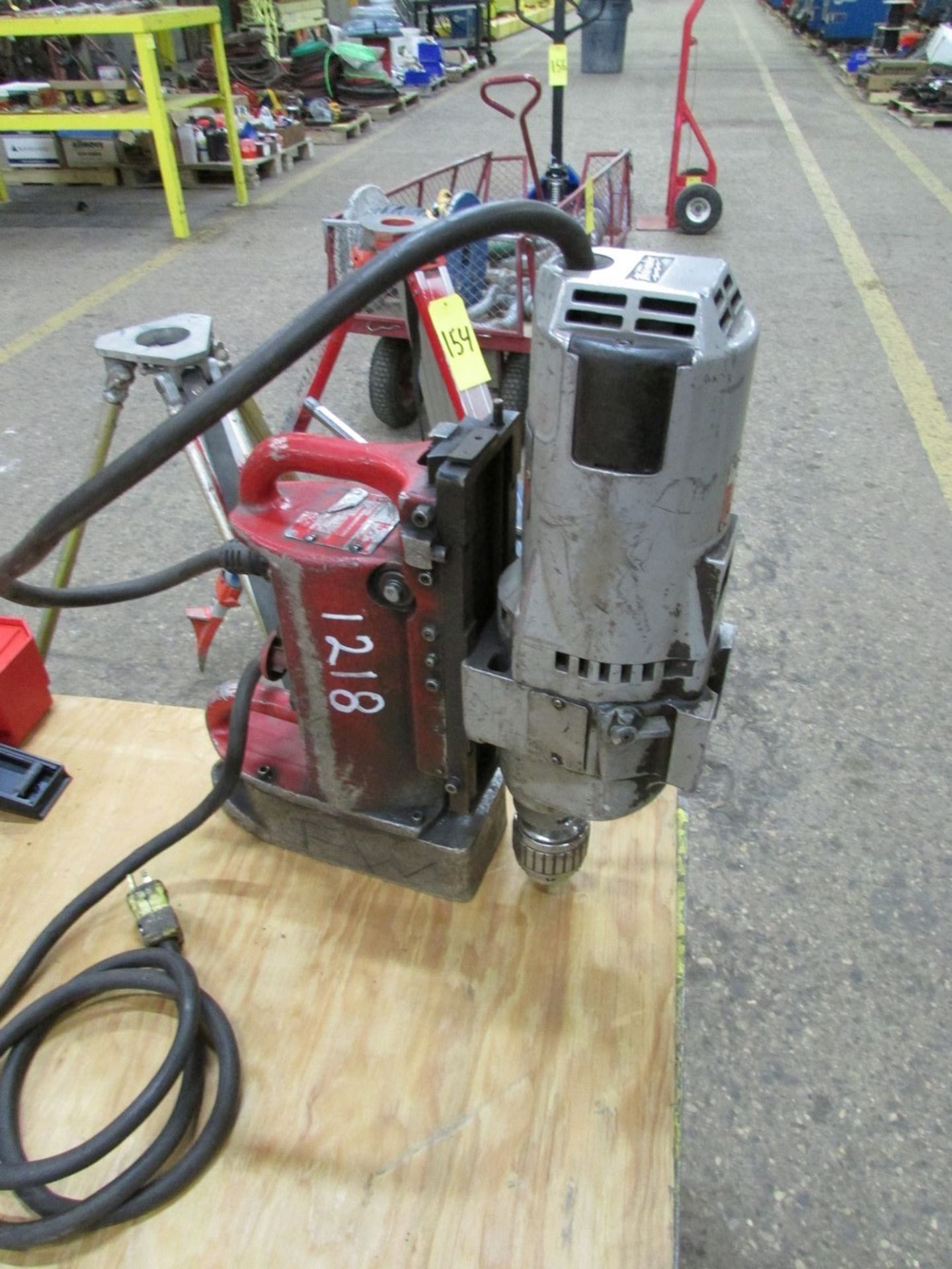 Lot 149 - Milwaukee Magnetic Drill w/ 1/2'' chuck, 3MT spindle, 120V