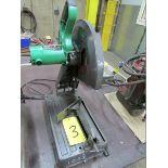 Hitachi CC14SF, 14'' abrasive chop saw, 110V
