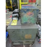 Gullco Rod Oven w/ Henkel portable rod dryer and small qty. of welding rods