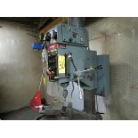 King KC-50 gear head 28'' drill press w/ 22'' x 22'' table, 7'' spindle stroke, 7'' vise, 575V/60/3