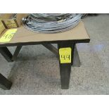 HD work table w/ 5'' vise, 48'' x 24'' x 32''H