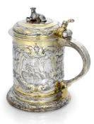 Grosser Barock-VermeilhumpenDanzig, Ende 17. Jahrhundert - Conrad Jakob KesebergH. 22,5 cmSilber,
