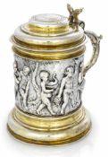 Barocker SilberhumpenHamburg, um 1670/75 - Christian Mundt IIIH. 18,5 cmSilber, gegossen,