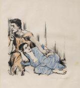 """Corinth, LovisTapiau, 1858 - Zandvoort, 192524 x 23,5 cm, R.""""Ich beschwöre euch, ihr Töchter"""