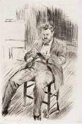 Slevogt, MaxLandshut, 1868 - Neukastel, 1932Versch., o.R.18 Bl.: Ohne Titel. Radierung auf u. a.