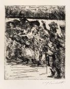 "Corinth, LovisTapiau, 1858 - Zandvoort, 192526 x 20,6cm, o.R""Come on, comrades, to horse and to"
