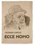 """Grosz, GeorgeBerlin, 1893 - 195936,5 x 26 x 2 cm""""Ecce Homo"""", 1922/1923. Buch mit 84 Fotolithografien"""