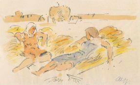 Haueisen, AlbertStuttgart, 1872 - Jockgrim, 1954Versch., o.R.2 Bl.: Baum, 1917; Nach der Ernte, o.