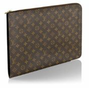 LOUIS VUITTON MONOGRAM CANVASDOKUMENTENMAPPE38,5X28,5 CM