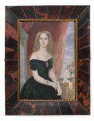 Peter, Emanuel Thomas (nach)Jägerndorf 1799 - 1873 Wien13,5 x 10 cmPortraitminiatur der Prinzessin