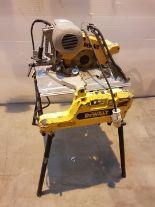 Lot 96 - Dewalt DW743 LX Flip Table Saw 110v