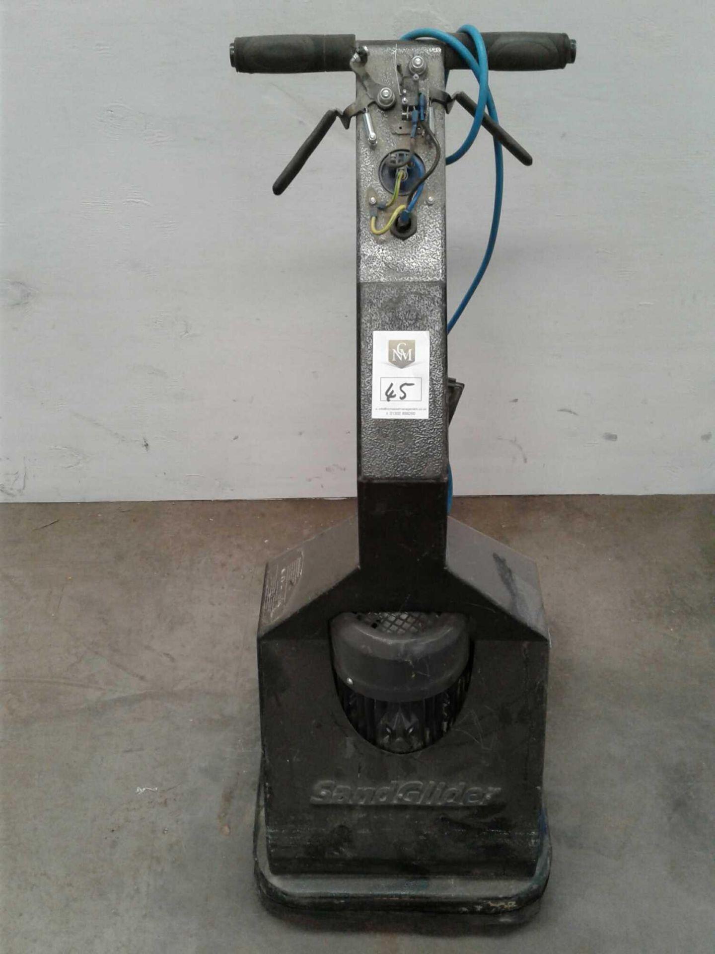 Lot 45 - Sand glider floor grinder sander 230v