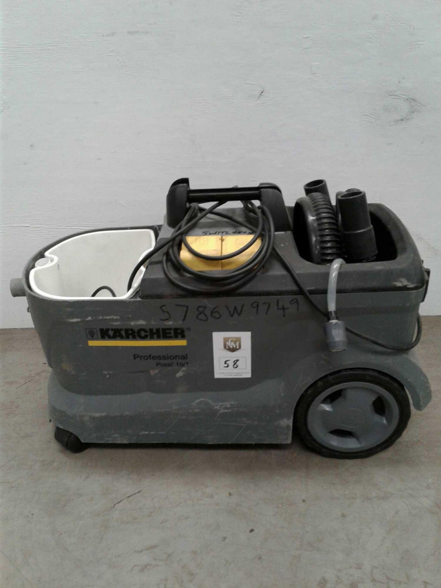 Lot 58 - Karcher carpet cleaner 230 V