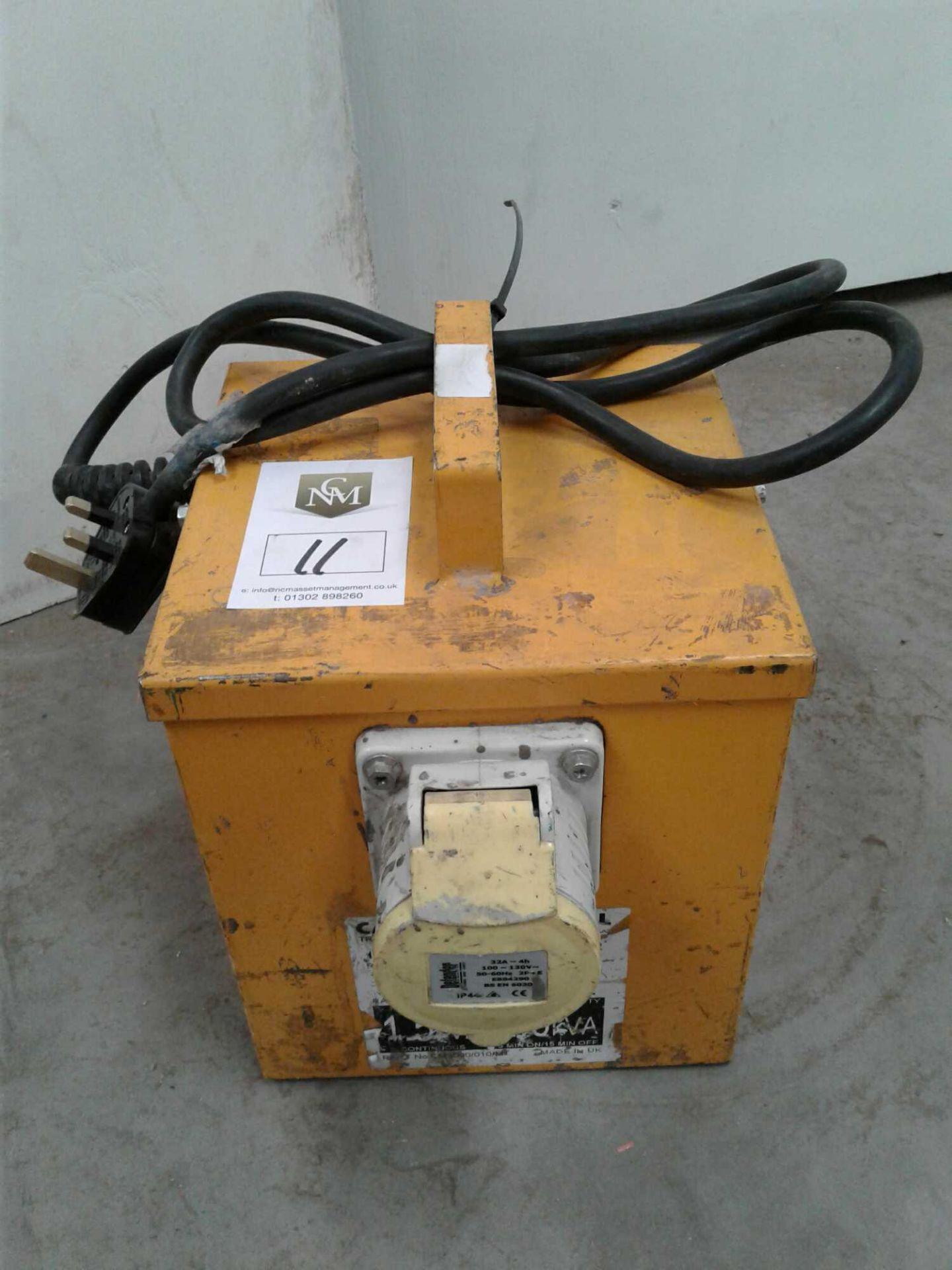 Lot 11 - 3kva transformer
